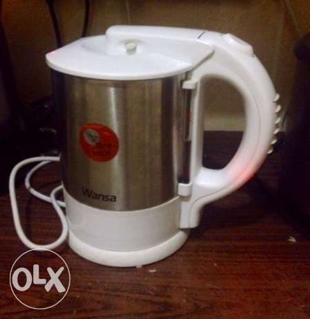 Stainless Electric Kettle سلوى -  1