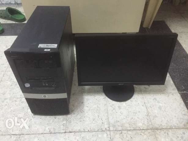 for sale hp compaq pc
