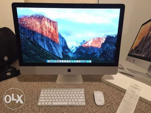 "Apple - 27"" iMac® with Retina 5K display - Intel Core i5 - 8GB Memory"