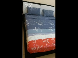 Bed and Mattress for sale in good condition