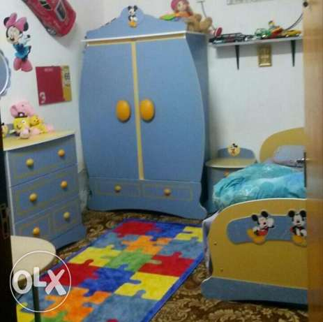 Kids Bedset for Sale (Disney)