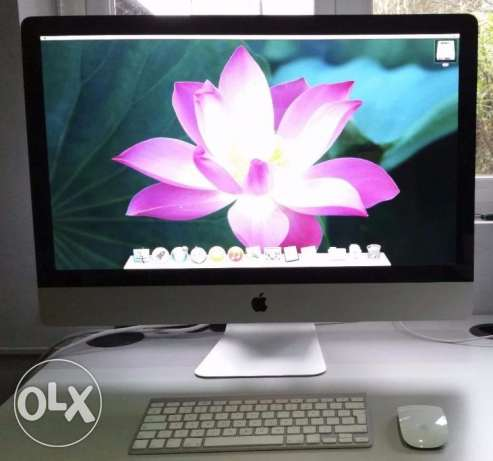 Apple 27'' iMac Intel core i5 2.66GHz 4GB RAM 1TB HDD