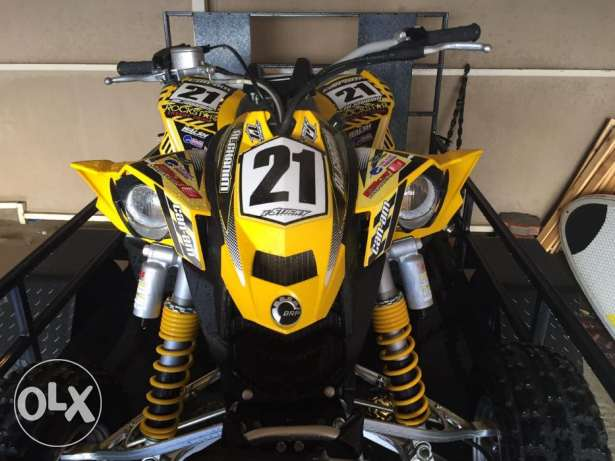 2008 CAN-AM DS450, made in Canada