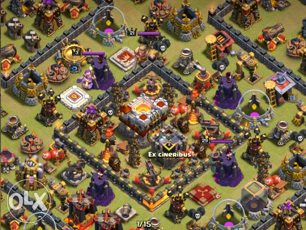 Clash of clans level 11