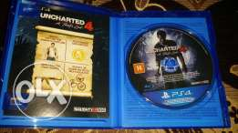 Uncharted 4 opened for only checking got as a gift