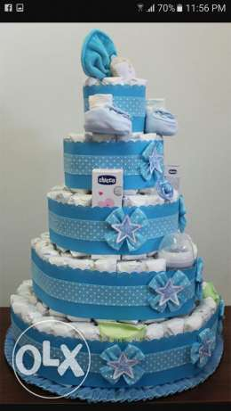 Nappy cake's the Best gift ever for New Born babys