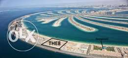 the8 from ifa in palm jumeira 1bedroom + maidr sea view
