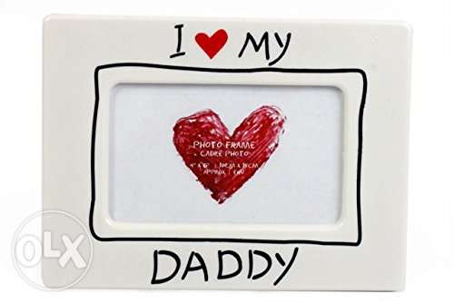 I Love My Daddy Heart Picture Photo Frame