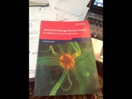 Edexcel AS Biology Revision Guide good shape for sale
