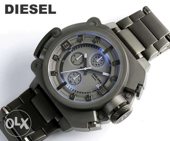 Rare Collection Diesel watch gunmetal (100% original)