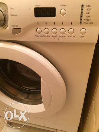 washing machine LG for free