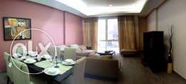 Sea view three bedroom flat for KD 800