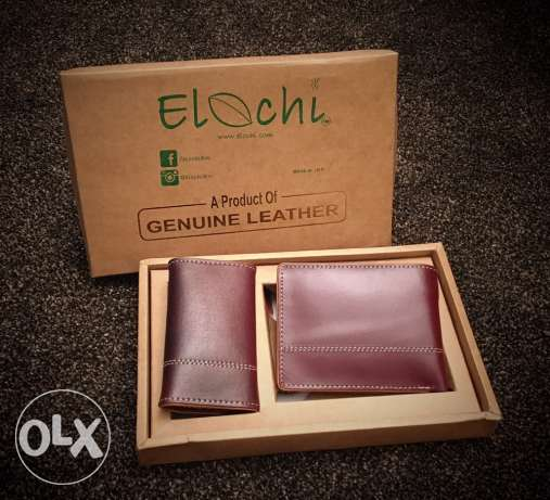 Genuine Leather Wallets.. Free Delivery All Over Kuwait