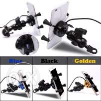 motorcycle mobile charger & holder