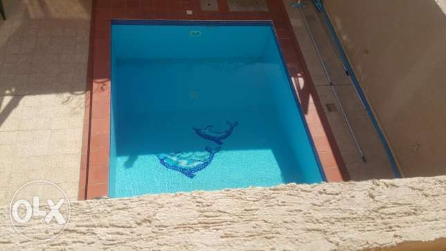 Lovely villa with pool in Egaila