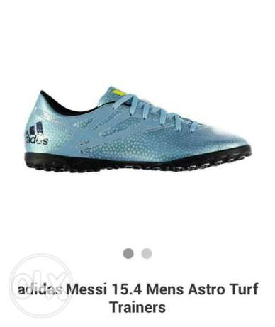 Brand new adidas messi astro turf trainers