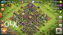 CoC TH11 village (not maxed)