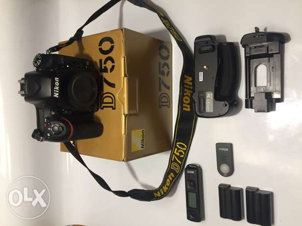 Nikon D750 Digital SLR Camera Body Brand New Full Frame DSLR + 1yr War
