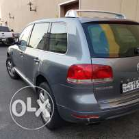VW Tourege 2006 Excellent Expat 1450 KD.. sunroof.rear camera.leather