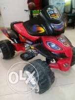 Power on motorcycle for kids