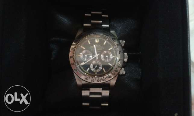 CASIO Chronograph - Original Casio watch + Rolex High copy