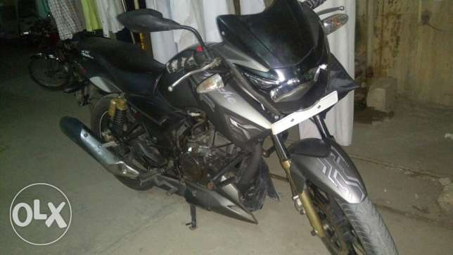 RTR 180 cc bike for sale anyone interested please call me after 7 pm I want to sale