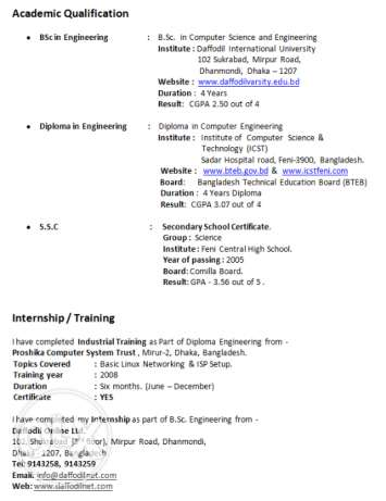 IT Job Seeking From Bangladesh