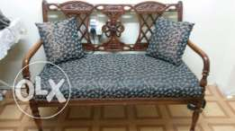 Sofa set for sale 3 seater (wooden)