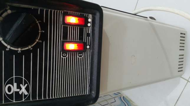 Heater for sale everything is working perfectly/سخان للبيع