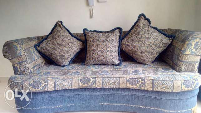 Sofa set (3+1+1) for sale