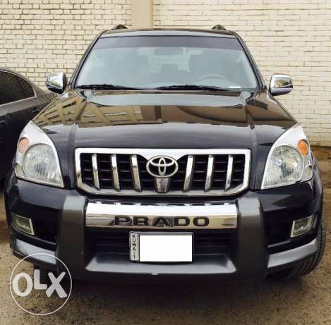 2006 Toyota Prado GX, 125000Kms for sale - Al Sayer maintained