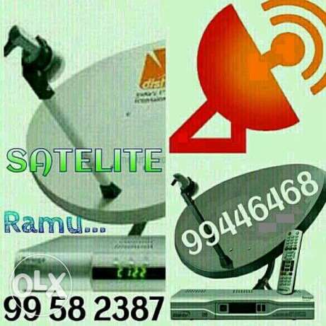 satellite dish installation Al receivers available yahasat iran please