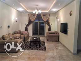 fully furnished villa flat in fintas