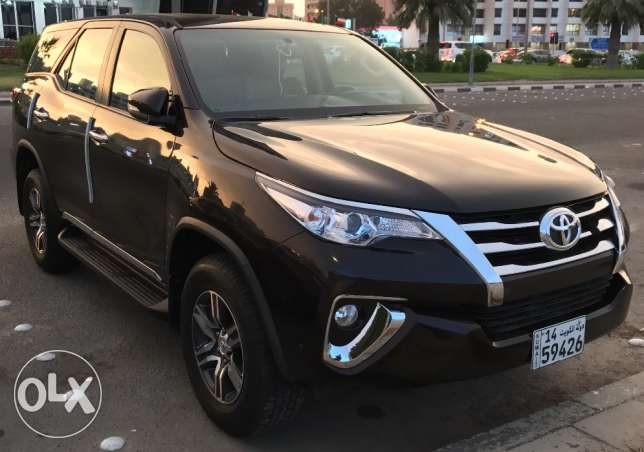New Fortuner 2016