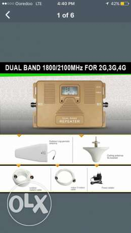 Mobile signal Repeater 4g