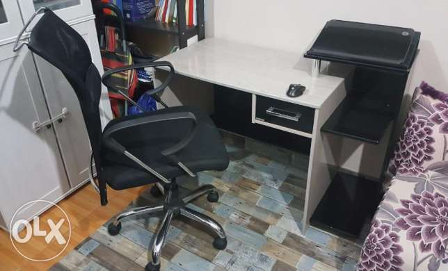Study Table With Chair For Sale - Through Away Price