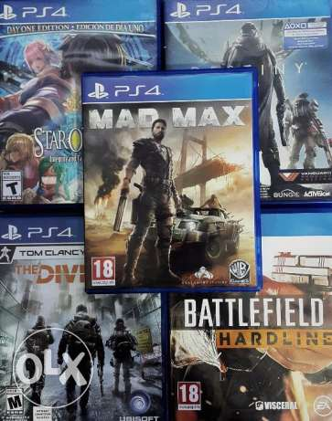Special offer 5 ps4 game for cheap price