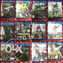 Ps4 Games availabe
