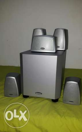 BOSTON USA 5.1 speaker system