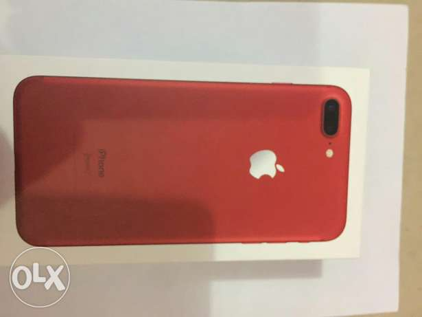 Iphone 7 plus 128 red color used 3day