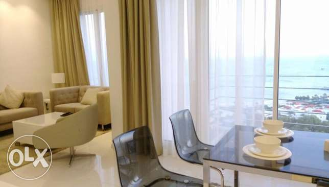 Brand new Serviced 3 bedroom apartment in salmiya 975 KD