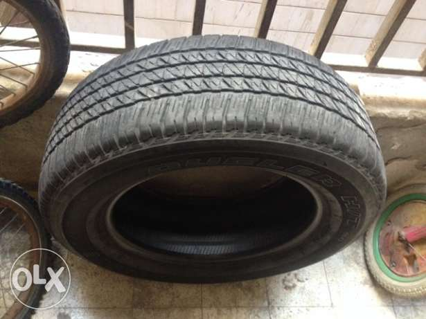 Tires 3 for SUV اطارات 3 لجيب برادو او غيره