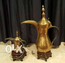 Brass Arabic coffee pots