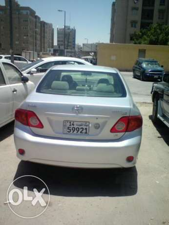 Toyota corrola 2010 urgent sale 1300 kd good condition