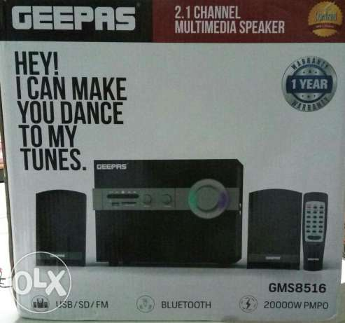 New Geepas 2.1 Home theater