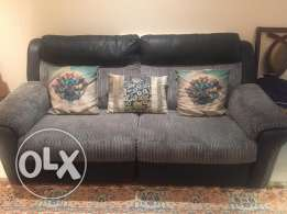 Sofa 3 seater x 2 (UK imported)