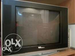 Wansa Tv with Remote. Superb condition. Rate is Fixed KD 5/-