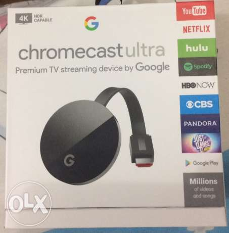 للبيع Chromecast Ultra for sale