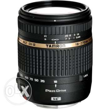 Selling TAMRON LENS AF 18-270MM F3.5-6.3 VC DI II PZD (CANON)