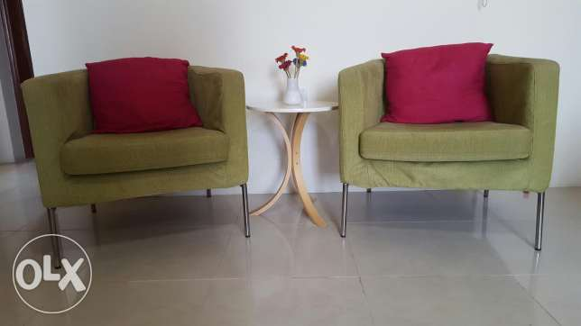 For sale IKEA armchair and coffee table